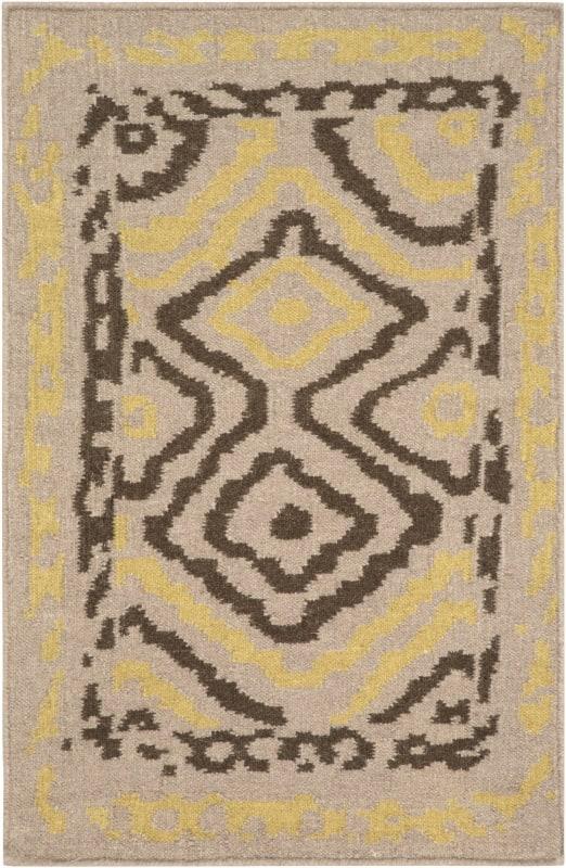 Surya AMD-1056 Alameda Hand Woven Wool Rug Brown 8 x 11 Home Decor
