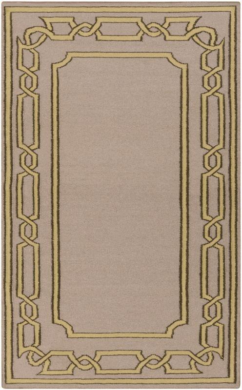 Surya AMD-1058 Alameda Hand Woven Wool Rug Brown 3 x 5 Home Decor Rugs