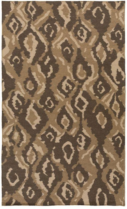 Surya AMD-1061 Alameda Hand Woven Wool Rug Brown 2 x 3 Home Decor Rugs