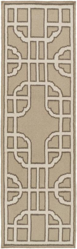 Surya AMD-1066 Alameda Hand Woven Wool Rug Brown 2 x 3 Home Decor Rugs