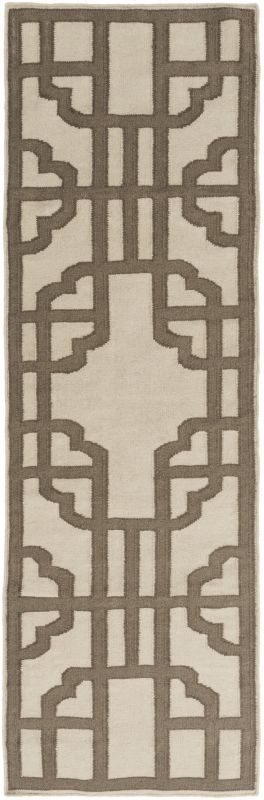 Surya AMD-1070 Alameda Hand Woven Wool Rug Gray 2 x 3 Home Decor Rugs