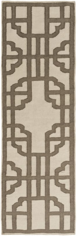 Surya AMD-1070 Alameda Hand Woven Wool Rug Gray 3 x 5 Home Decor Rugs