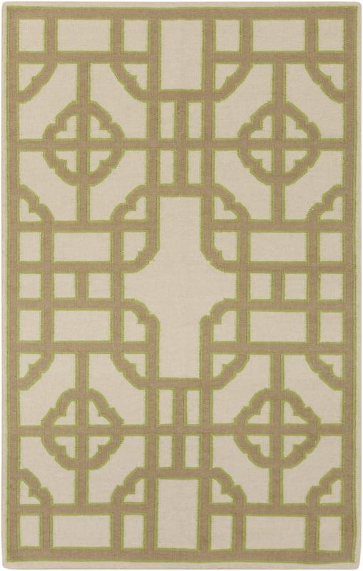 Surya AMD-1079 Alameda Hand Woven Wool Rug Brown 5 x 8 Home Decor Rugs