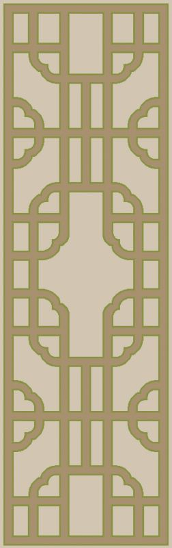 Surya AMD-1079 Alameda Hand Woven Wool Rug Brown 8 x 11 Home Decor