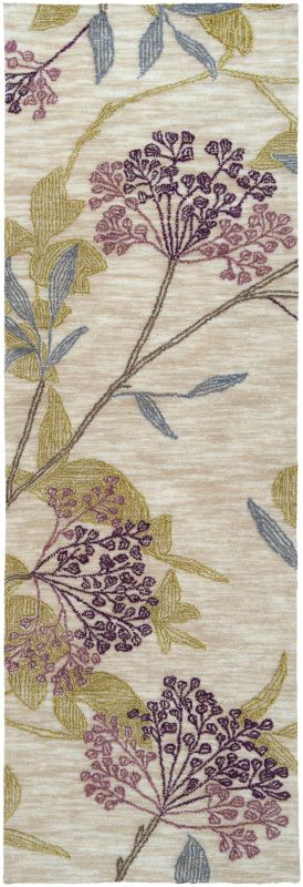 Surya AME-2224 Ameila Hand Tufted Polyester Rug Purple 2 1/2 x 7 1/2