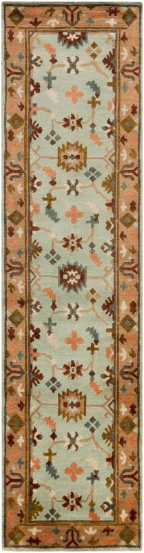 Surya ANA-8410 Anastacia Hand Knotted New Zealand Wool Rug Green 2 1/2 Sale $1093.80 ITEM: bci2657738 ID#:ANA8410-2610 UPC: 764262907391 :