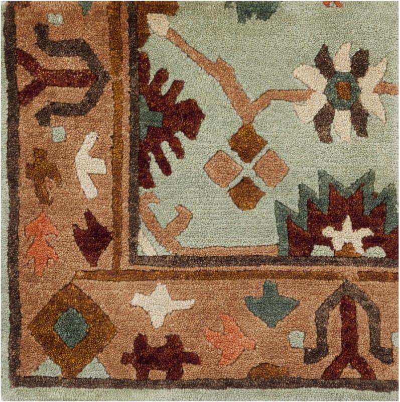Surya ANA-8410 Anastacia Hand Knotted New Zealand Wool Rug Green 9 x
