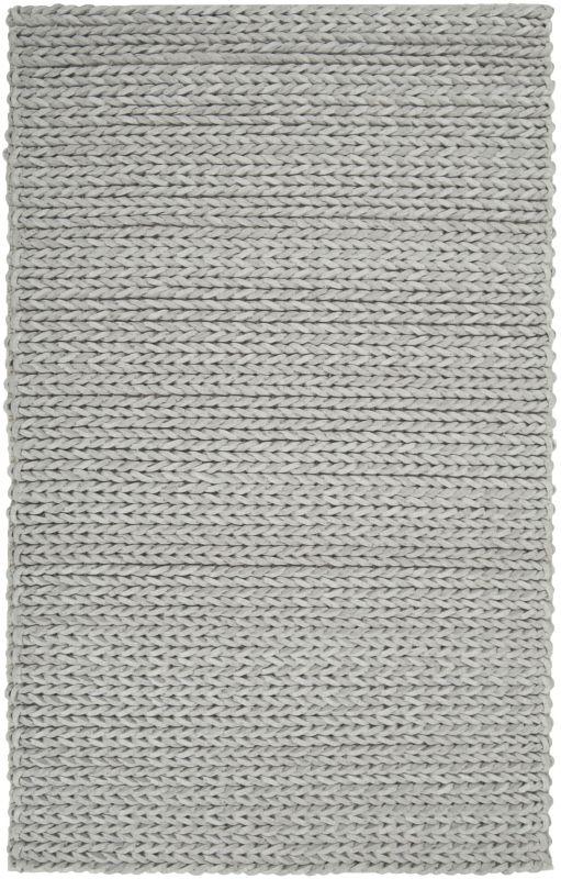 Surya ANC-1001 Anchorage Hand Woven New Zealand Wool Rug Green 8 x 11