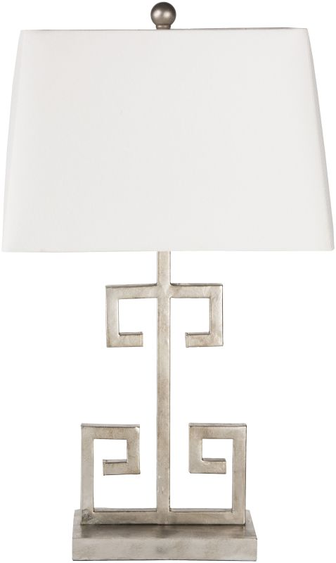 Surya ANLP-001 Antony 1 Light Table Lamp Silver Lamps Accent Lamps
