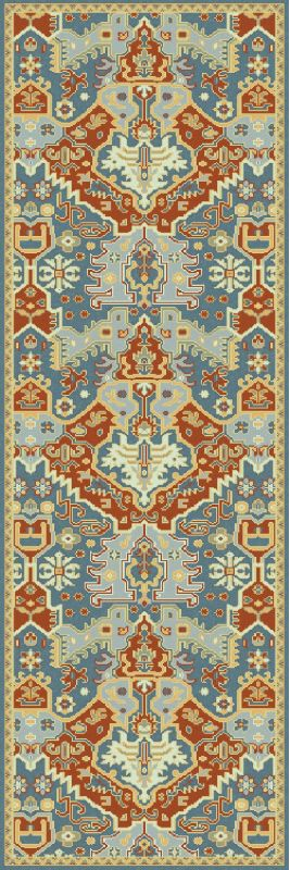 Surya ANT-9712 Antolya Hand Knotted New Zealand Wool Rug Blue 2 1/2 x Sale $904.20 ITEM: bci2657764 ID#:ANT9712-268 UPC: 888473040835 :