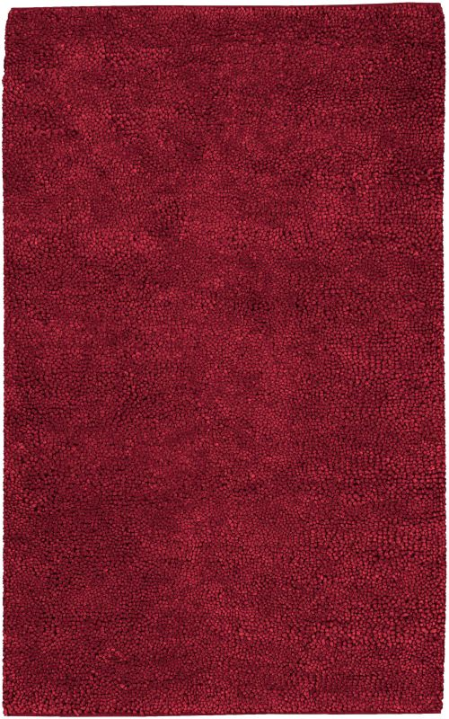 Surya AROS-1 Aros Hand Woven New Zealand Wool Rug Red 5 x 8 Home Decor