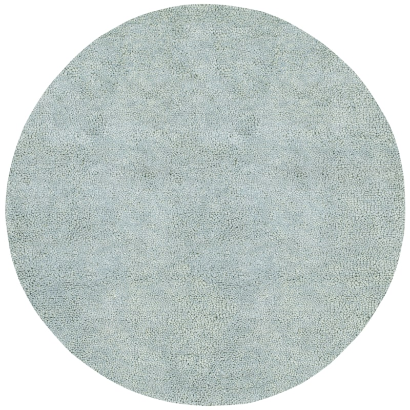 Surya AROS-11 Aros Hand Woven New Zealand Wool Rug Green 8 x 8 Round