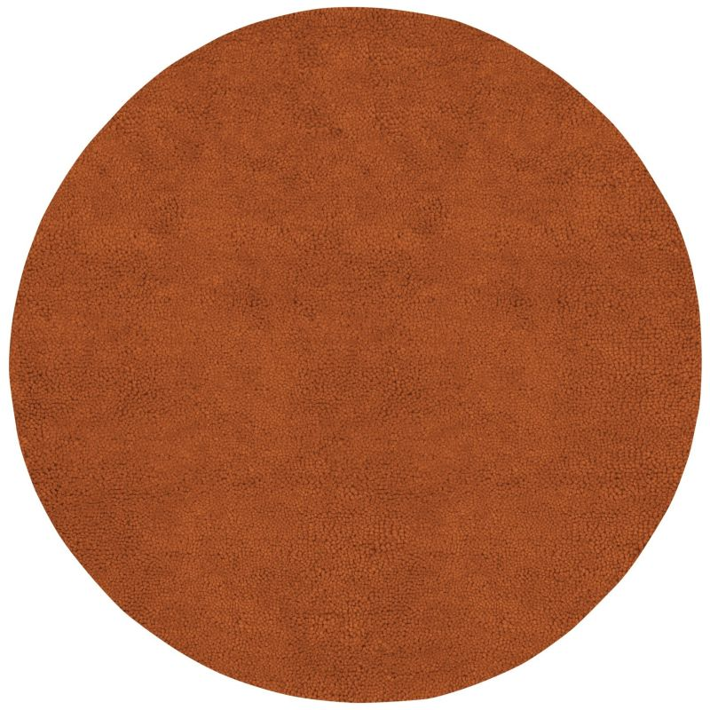 Surya AROS-5 Aros Hand Woven New Zealand Wool Rug Red 10 x 10 Round