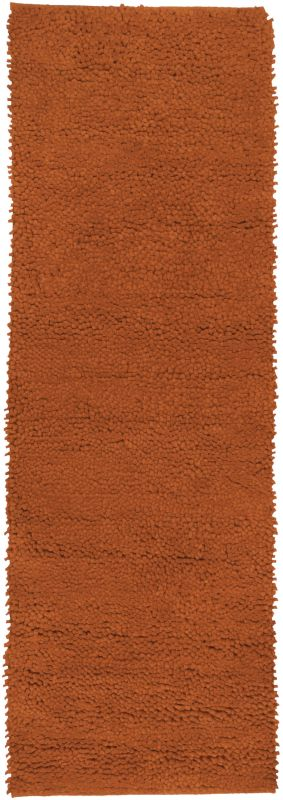 Surya AROS-5 Aros Hand Woven New Zealand Wool Rug Red 2 1/2 x 8 Home