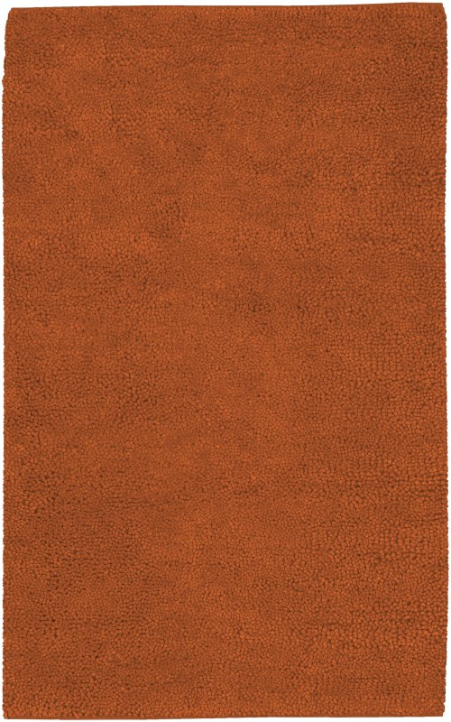 Surya AROS-5 Aros Hand Woven New Zealand Wool Rug Red 5 x 8 Home Decor