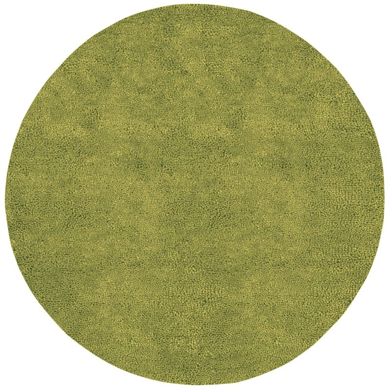 Surya AROS-6 Aros Hand Woven New Zealand Wool Rug Green 10 x 10 Round