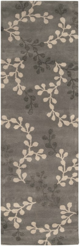 Surya ART-195 Artist Studio Hand Tufted New Zealand Wool Rug Gray 3 x