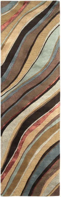 Surya ART-229 Artist Studio Hand Tufted New Zealand Wool Rug Brown 2