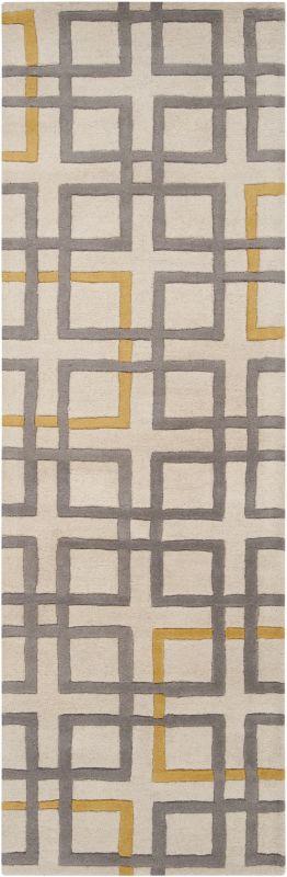 Surya ART-231 Artist Studio Hand Tufted New Zealand Wool Rug Gray 2 x