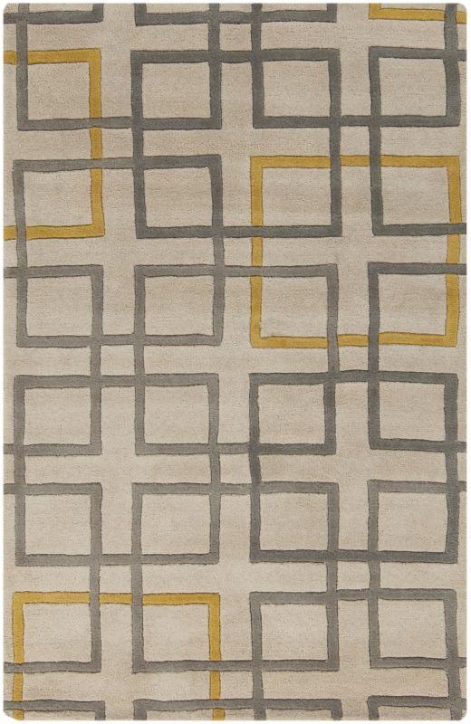 Surya ART-231 Artist Studio Hand Tufted New Zealand Wool Rug Gray 3 x