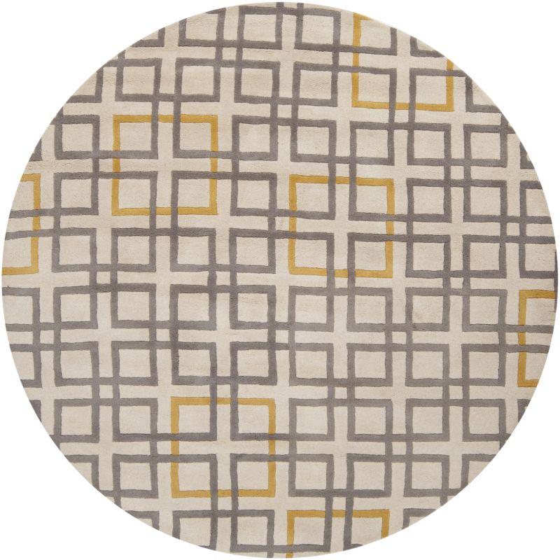 Surya ART-231 Artist Studio Hand Tufted New Zealand Wool Rug Gray 8 x