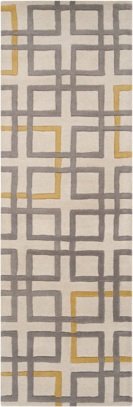 Surya ART-231 Artist Studio Hand Tufted New Zealand Wool Rug Gray 9 x