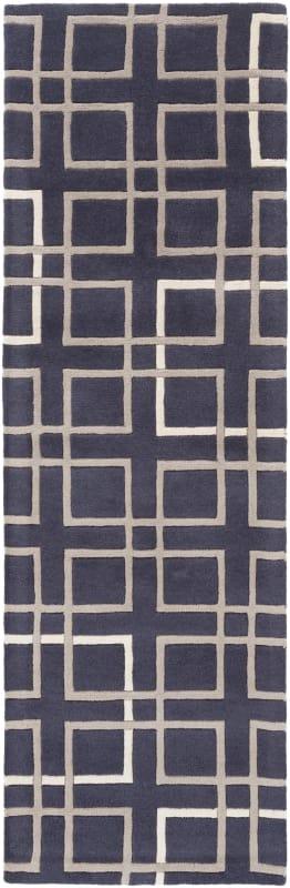 Surya ART-237 Artist Studio Hand Tufted New Zealand Wool Rug Blue 2 x