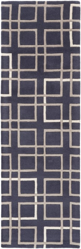 Surya ART-237 Artist Studio Hand Tufted New Zealand Wool Rug Blue 9 x