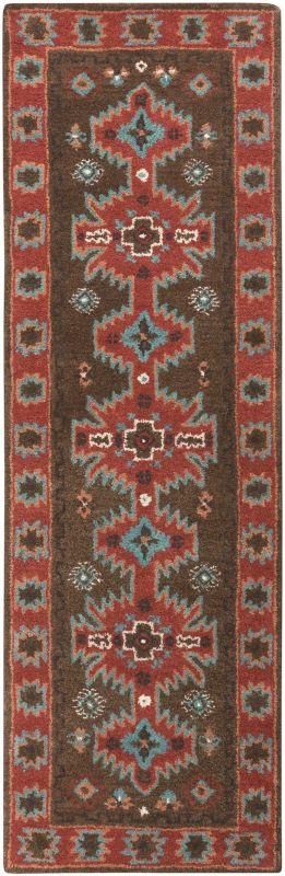 Surya ARZ-1004 Arizona Hand Tufted Wool Rug Brown 3 x 5 Home Decor
