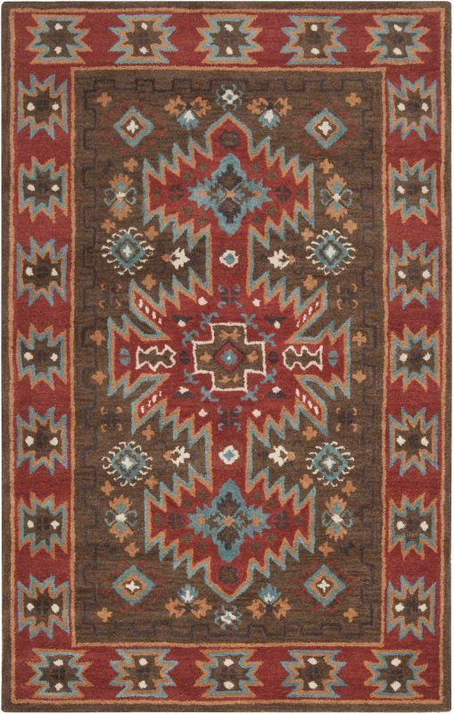 Surya ARZ-1004 Arizona Hand Tufted Wool Rug Brown 5 x 8 Home Decor Sale $547.80 ITEM: bci2658049 ID#:ARZ1004-58 UPC: 764262675481 :