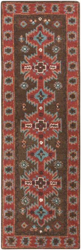 Surya ARZ-1004 Arizona Hand Tufted Wool Rug Brown 8 x 11 Home Decor