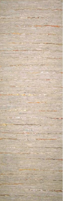 Surya ATE-8000 Anthracite Hand Woven Leather Rug Off-White 2 x 3 Home
