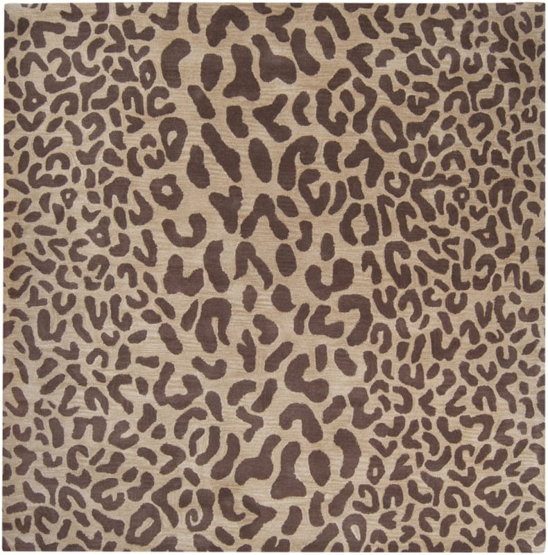 Surya ATH-5000 Athena Hand Tufted Wool Rug Brown 9 1/2 x 9 1/2 Home