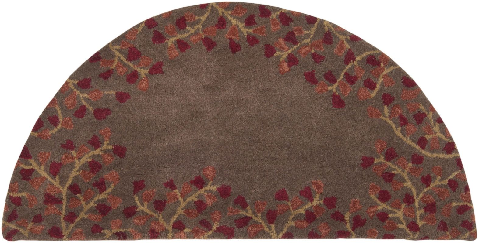 Surya ATH-5003 Athena Hand Tufted Wool Rug Red 2 x 4 Home Decor Rugs