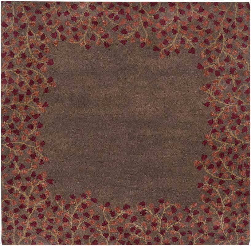 Surya ATH-5003 Athena Hand Tufted Wool Rug Red 8 x 10 Oval Home Decor