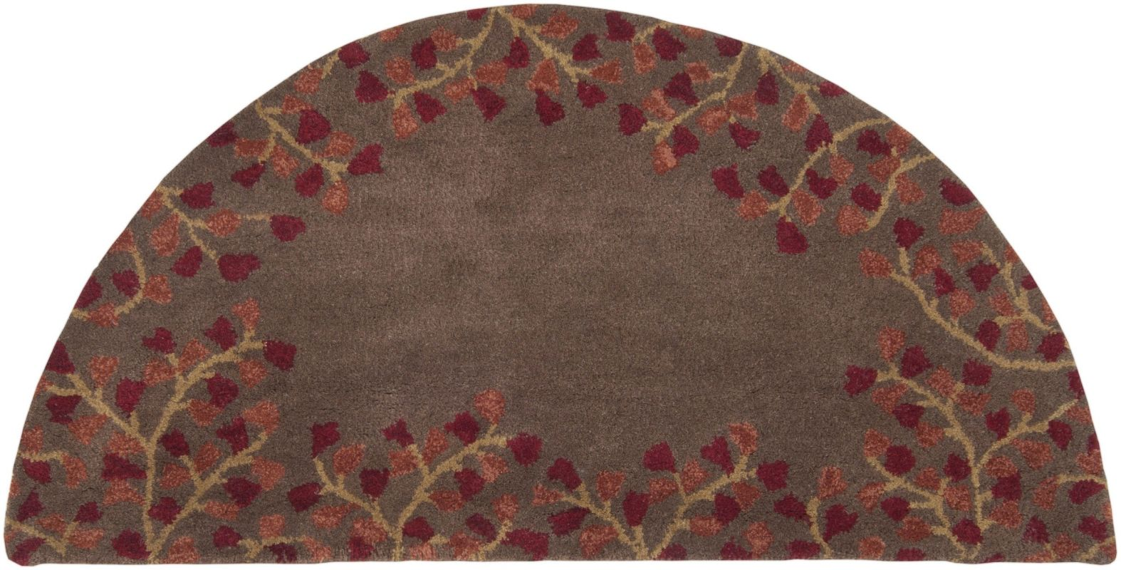 Surya ATH-5003 Athena Hand Tufted Wool Rug Red 8 x 11 Home Decor Rugs