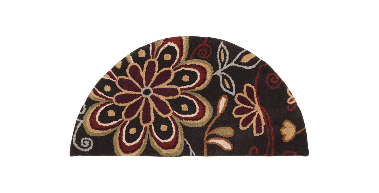Surya ATH-5037 Athena Hand Tufted Wool Rug Brown 2 x 4 Home Decor Rugs