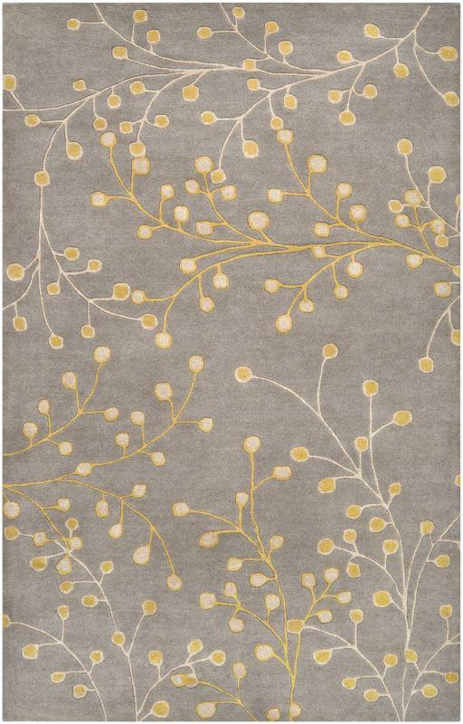 Surya ATH-5060 Athena Hand Tufted Wool Rug Gray 9 x 12 Home Decor Rugs