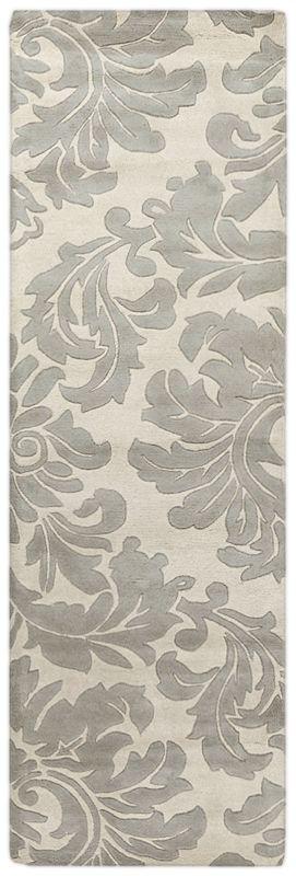 Surya ATH-5073 Athena Hand Tufted Wool Rug Gray 2 1/2 x 8 Home Decor
