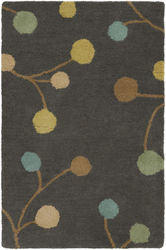 Surya ATH-5110 Athena Hand Tufted Wool Rug Gray 2 x 3 Home Decor Rugs Sale $77.40 ITEM: bci2660478 ID#:ATH5110-23 UPC: 764262857610 :
