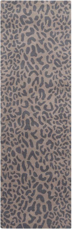 Surya ATH-5114 Athena Hand Tufted Wool Rug Gray 2 1/2 x 8 Home Decor