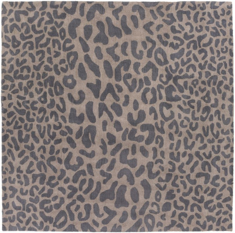 Surya ATH-5114 Athena Hand Tufted Wool Rug Gray 4 x 4 Home Decor Rugs