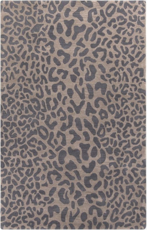 Surya ATH-5114 Athena Hand Tufted Wool Rug Gray 7 1/2 x 9 1/2 Home