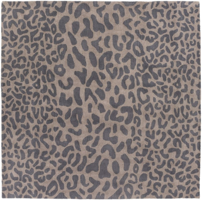 Surya ATH-5114 Athena Hand Tufted Wool Rug Gray 9 1/2 x 9 1/2 Home