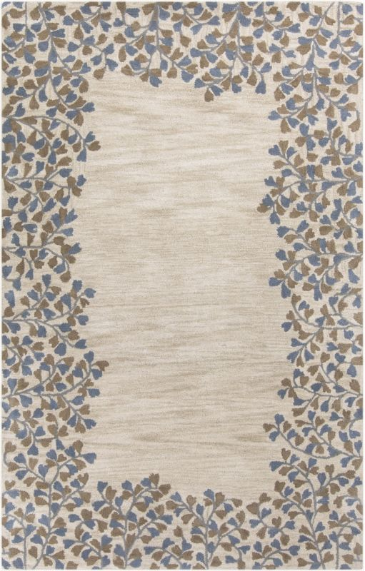 Surya ATH-5117 Athena Hand Tufted Wool Rug Off-White 7 1/2 x 9 1/2