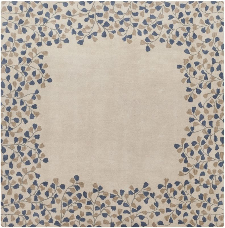 Surya ATH-5117 Athena Hand Tufted Wool Rug Off-White 9 1/2 x 9 1/2