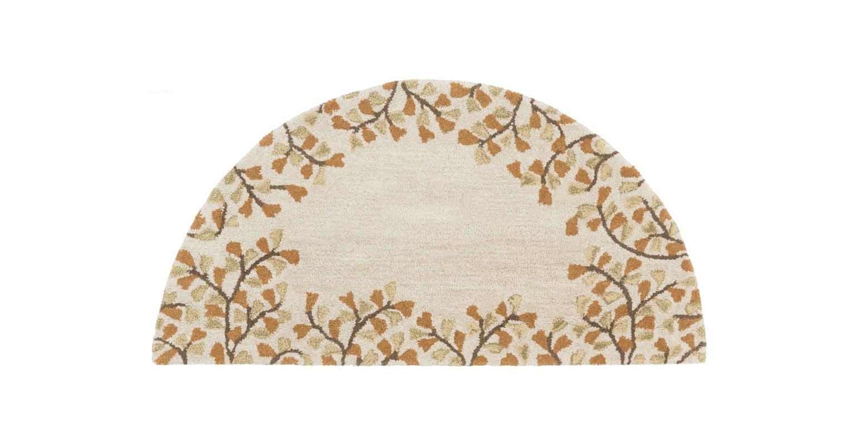 Surya ATH-5118 Athena Hand Tufted Wool Rug Gold 2 x 4 Home Decor Rugs