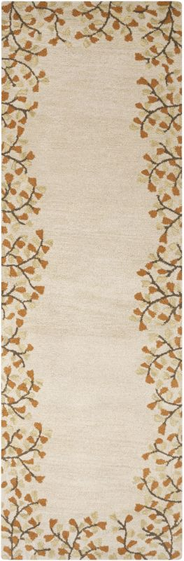 Surya ATH-5118 Athena Hand Tufted Wool Rug Gold 2 1/2 x 8 Home Decor