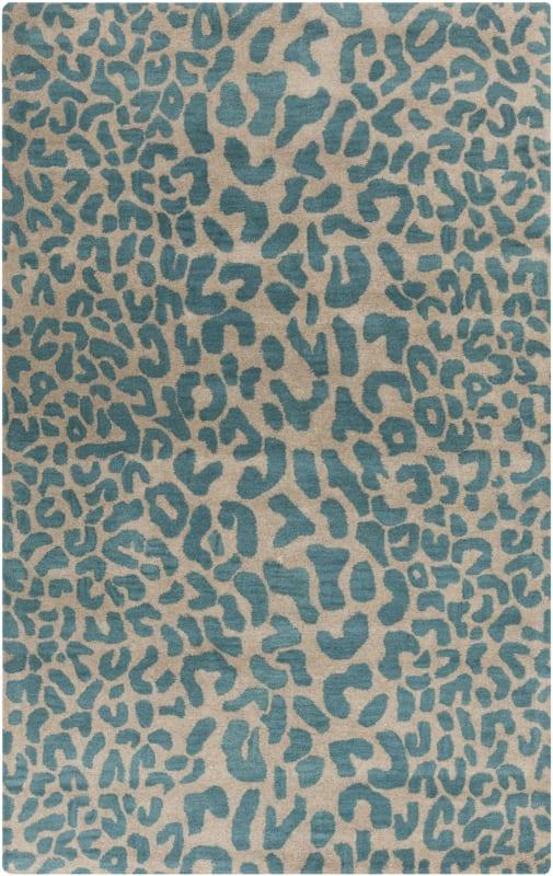 Surya ATH-5120 Athena Hand Tufted Wool Rug Blue 2 x 3 Home Decor Rugs