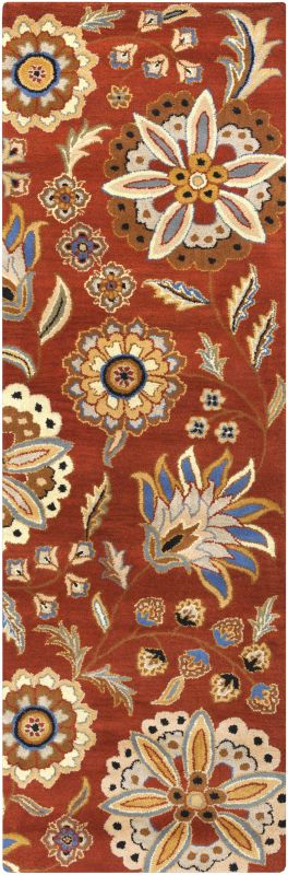 Surya ATH-5126 Athena Hand Tufted Wool Rug Red 2 1/2 x 8 Home Decor Sale $226.80 ITEM: bci2660763 ID#:ATH5126-268 UPC: 764262645392 :
